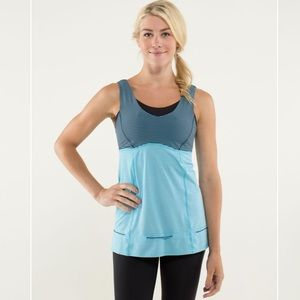 Lululemon Run Tame Me Tank Adjustable Drawcord